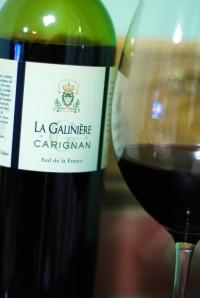 Primeira fotogarfia publicada no artigo La Galinière Carignan 2009