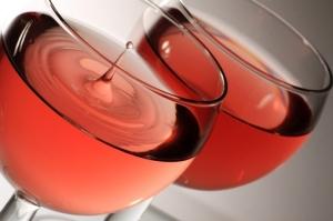 Primeira fotogarfia publicada no artigo Vinhos Rosés