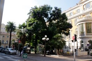 Primeira fotogarfia publicada no artigo Nice e Cap D'Antibes