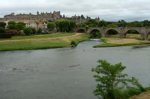 Primeira fotogarfia publicada no artigo Vinho e Patrimônio de Languedoc Roussillon& Carcassonne